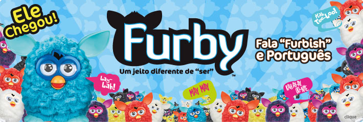 Lan&ccedil;amento Furby